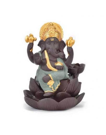 Suport conuri parfumate backflow - Ganesha
