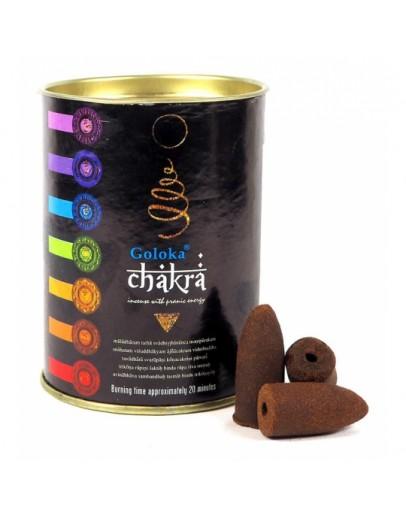 Conuri Parfumate Backflow - 7 Chakre - Super Premium