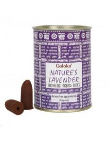 Conuri Parfumate Backflow - Lavandă naturală - Super Premium