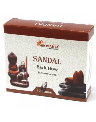 Conuri Backflow Premium - Lemn de santal