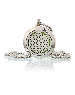 Colier Aromatherapy - Flower of Life, 25mm