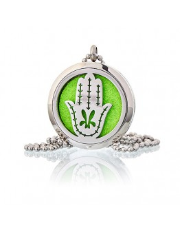 Colier Aromatherapy - Hand of Fatima 30mm