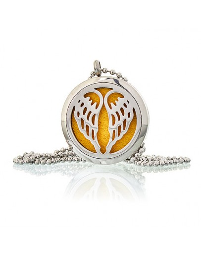 Colier Aromatherapy - Angel Wings, 30mm