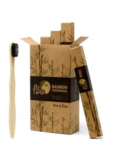 Periuță de Dinți din Bambus - Medium Soft