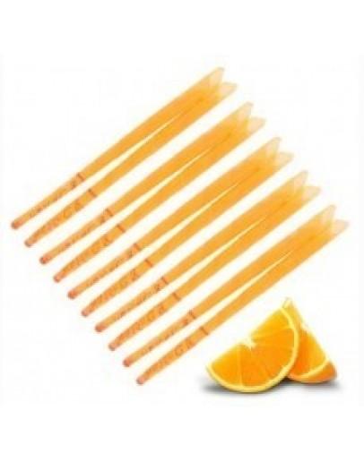 Lumânare pentru urechi, cu parfum de portocale