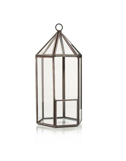Terariu din Sticlă - Formă de Felinar