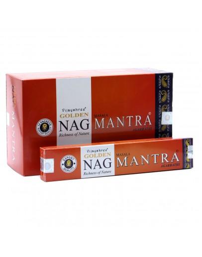 Bețișoare Parfumate Golden Nag - Mantra