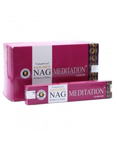 Bețișoare Parfumate Golden Nag - Meditation