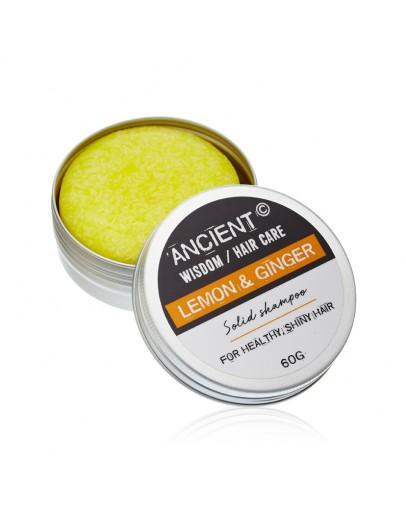 Șampon Solid - Lemon Ginger, 60g