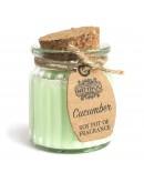 Lumânare Parfumată din Soia cu Aromă de Castravete