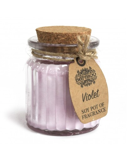 Lumânare Parfumată din Soia Violet