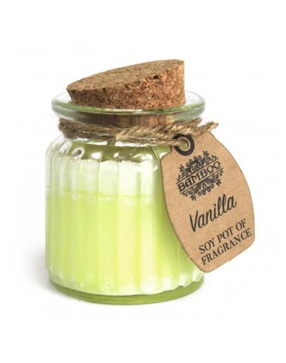 Lumânare Parfumată din Soia cu Aromă de Vanilie