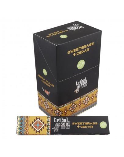 Bețișoare Parfumate Tribal - Iarbă Dulce & Cedru